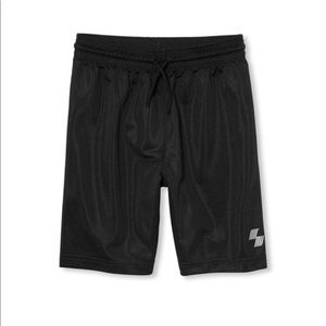NWT PLACE Boys Black Gym Basketball Shorts XS (4)